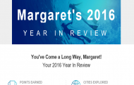 Marriott Rewards Year In Review email header