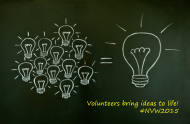 Volunteers bring ideas to life #NVW2015