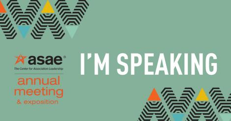 ASAE16 Speaking