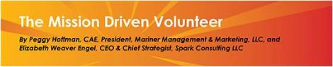 Mission Driven Volunteer header