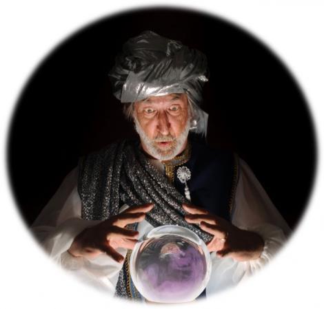 Wizard & magic ball - future