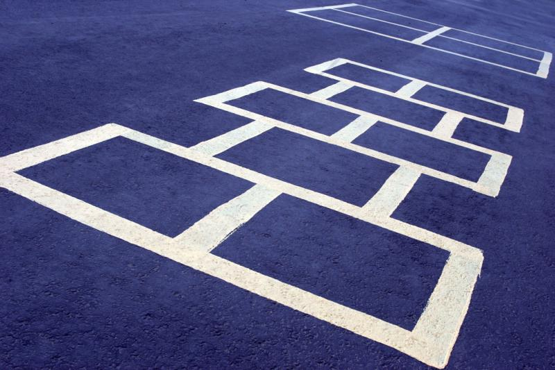 hop scotch grid